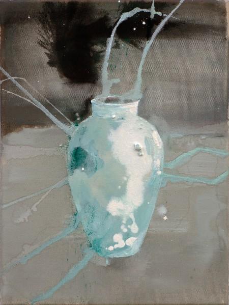 Drift, Eitempera auf Leinwand, 40 x 30 cm, 2011