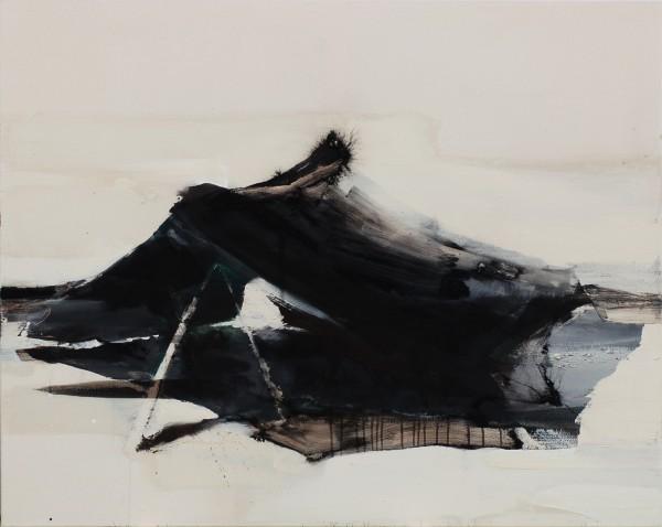 ohne Titel, Eitempera auf Leinwand, 120 x 150 cm, 2011