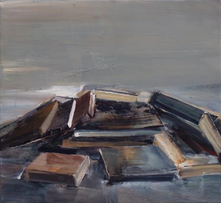 ohne Titel, Eitempera auf Leinwand, 60 x 65 cm, 2013