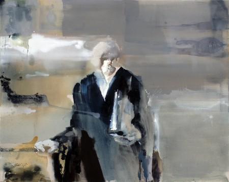 Richter, Eitempera auf Leinwand, k.A., 2011