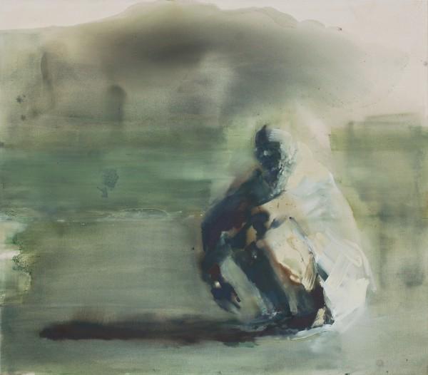 Warten, Eitempera auf Leinwand, 140 x 160 cm, 2011